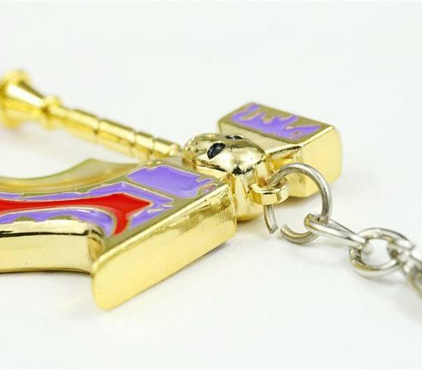 Golden basher keychain pic 3