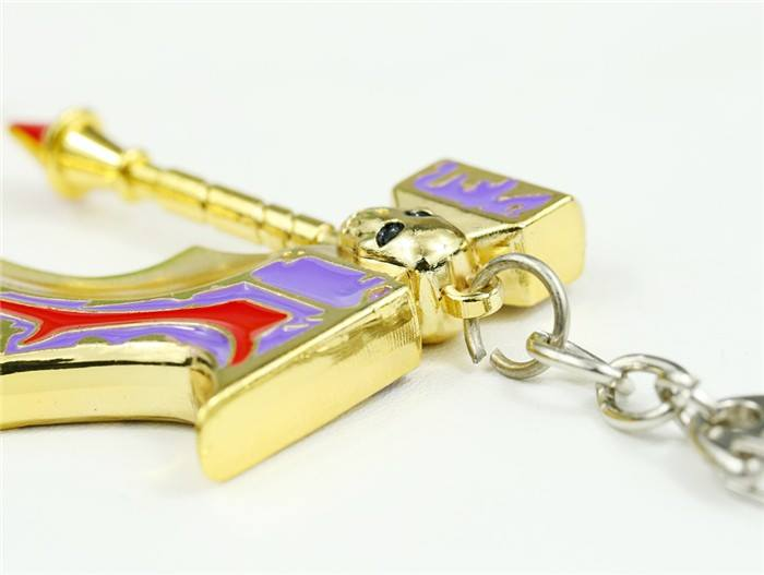Golden basher keychain pic 3