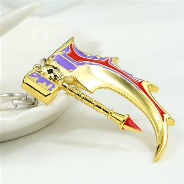 Golden basher keychain pic 4
